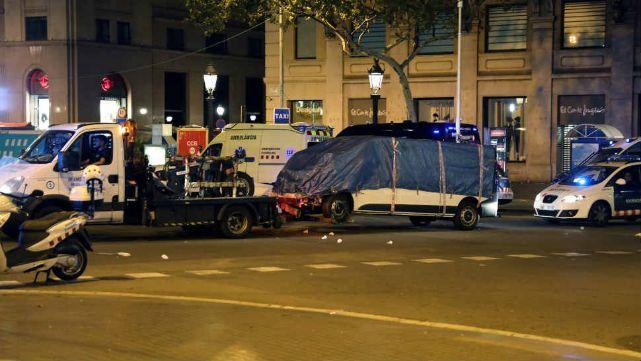 Atentado en Barcelona: volvió la argentina herida